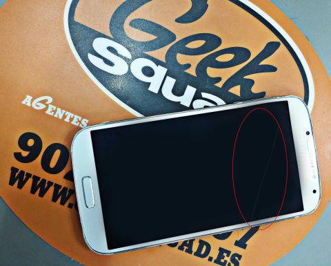 cambiar pantalla móvil rota LCD