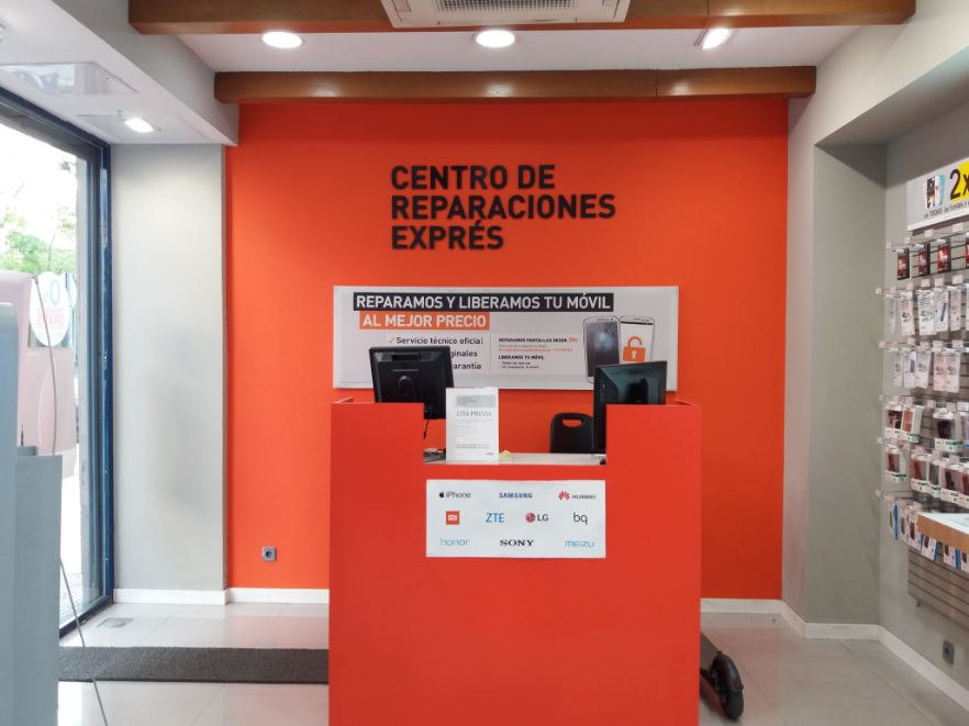 reparar movil madrid
