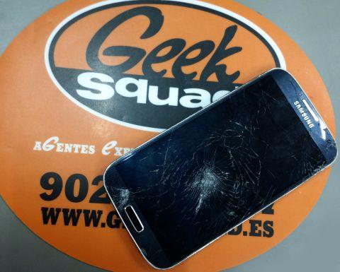LCD y cristal móvil roto